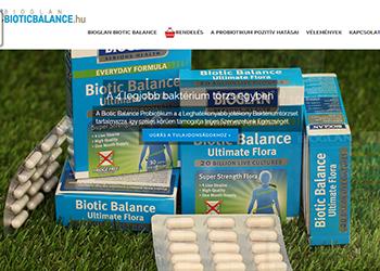 Bioglan Biotic Balance probiotikum kapszula