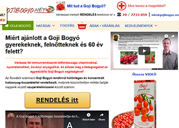 Mannavita 100%-os goji bogyó gyümölcslé