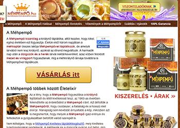 Mannavita 100%-os tiszta méhpempő