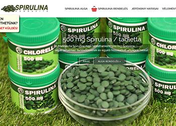 Mannavita Spirulina és Chlorella alga tabletta