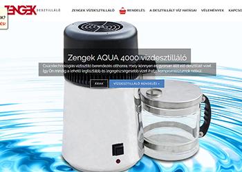 Zengek Aqua 4000 vízdesztilláló berendezés
